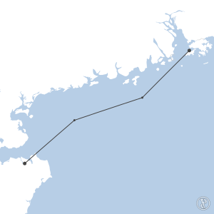 Map of flight plan from ZJHK to VHHH